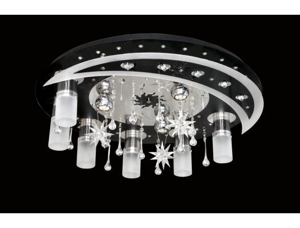Люстра светодиодная Omnilux OML-17007-09