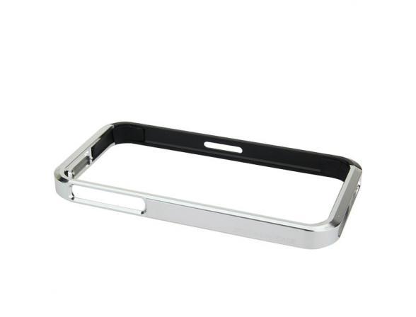 Бампер алюминиевый D-Lex для iPhone DALBS28(серебро)