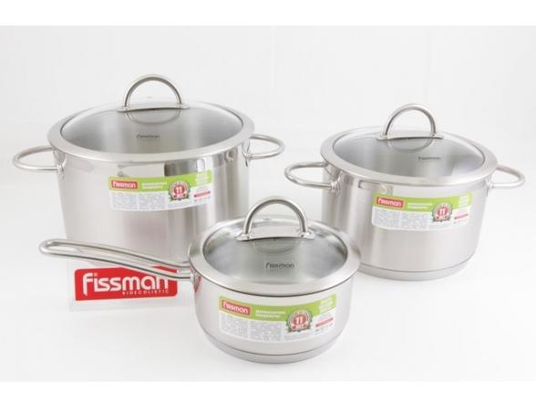 Набор посуды Fissman BENJAMIN 5826