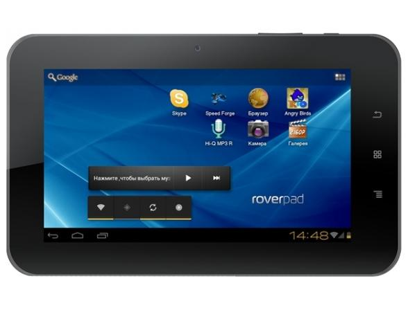 Планшет RoverPad 3W T71D