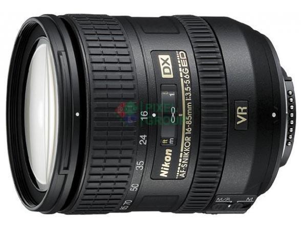 Объектив Nikon 16-85 mm f/3.5-5.6G ED VR AF-S DX Nikkor