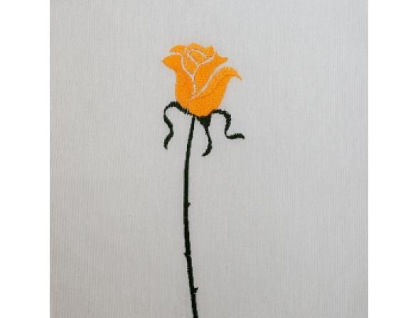 Шторка для ванной ARTI-DECO ROSAS C. YELLOW