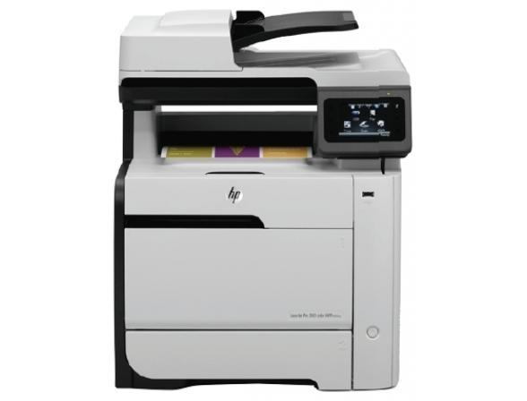 Многофункциональный аппарат HP LaserJet Pro 300 Color MFP M375nw