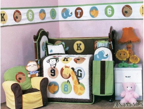 Комплект для детской кровати ARYA CY 966 Animals