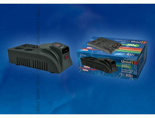 Стабилизатор настольный Uniel Functional U-SDT-800/1