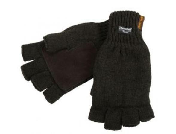 Перчатки JahtiJakt Half finger gloves brown