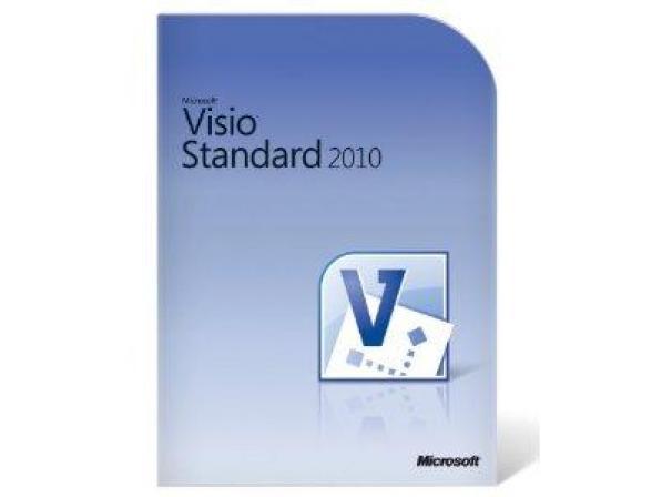 Microsoft ПО Microsoft VisioStd 2010 32bitx64 Russian Disk Kit MVL DVD (D86-04395)