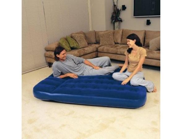 Кровать надувная Bestway Flocked Air Bed Double 67225