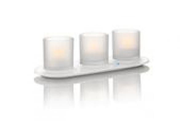 Светодиодная линейка Philips 6918760PH Naturelle TeaLights 3 set (5)