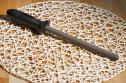 Мусат керамический термоупрочненный Samura NAKATOMI 20см черный