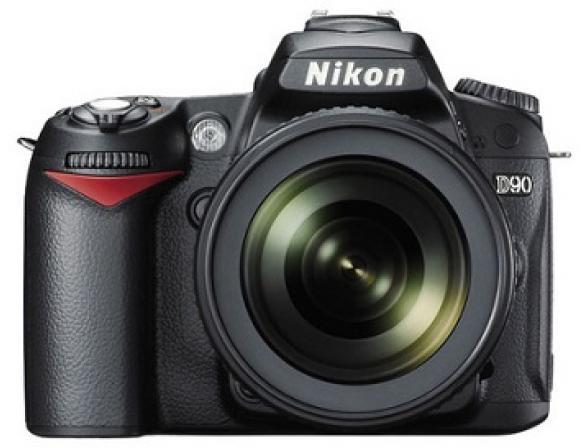 Зеркальный фотоаппарат Nikon D90 Kit 18-55