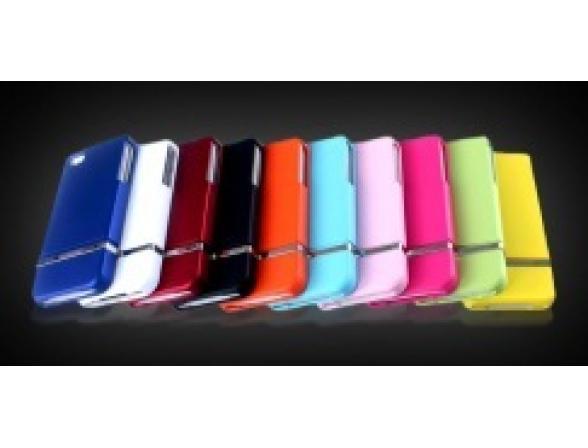 Чехол D-Lex PremiumCover для iPhone белый