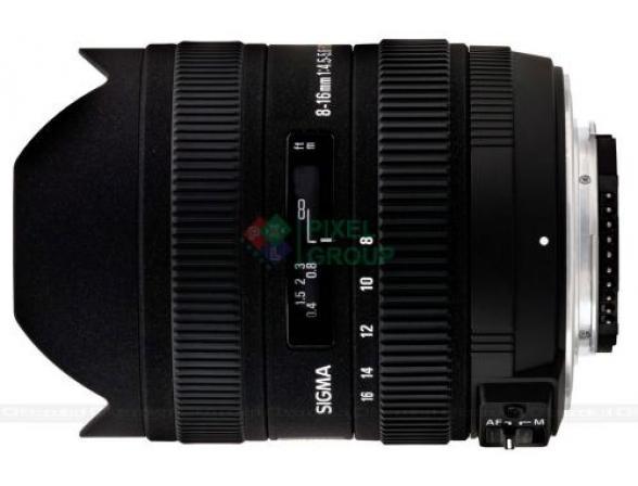 Объектив Sigma AF 8-16mm f/4.5-5.6 DC HSM NIKON