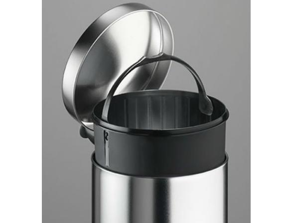 Ведро для мусора Meliconi OPERA 14л (черный/фуксия)