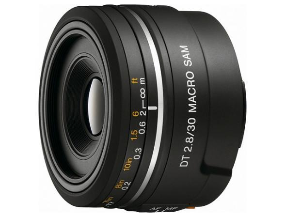 Объектив Sony 30mm 2.8 DT Macro SAM (SAL-30M28)*
