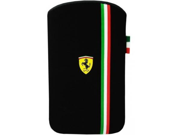 Чехол Ferrari для iPhone 4/4s Scuderia V3 (черный)