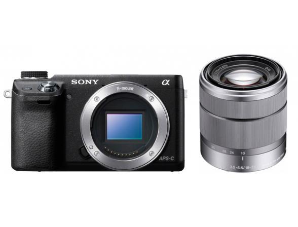 Цифровой фотоаппарат Sony Alpha NEX-6 Kit 18-55 black*