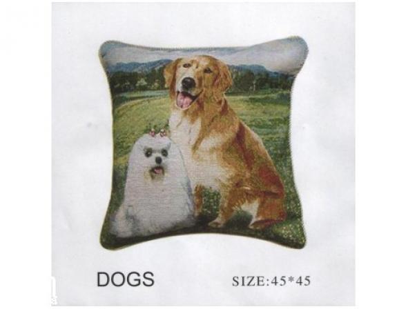 Набор наволочек ARYA Dogs 45х45 2 пр.