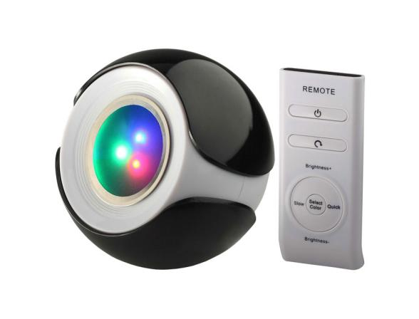 Декоративный светильник ЭРА 626917 Magic colours BBlack-3