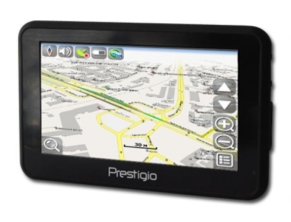 GPS-навигатор Prestigio GeoVision 5120BT