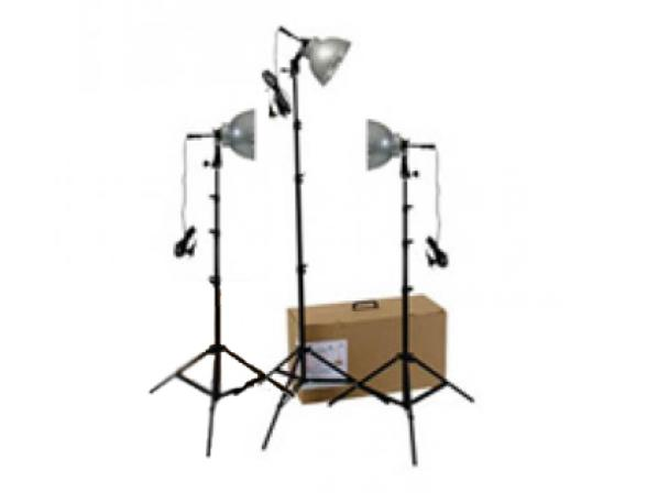 Комплект галогенных осветителей Rekam Light Kit-3 Q-21K3 (3х250Вт)