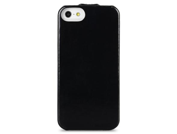 Чехол Melkco Leather Case for Aplle iPhone 5 - Jacka Type (Vintage Black)