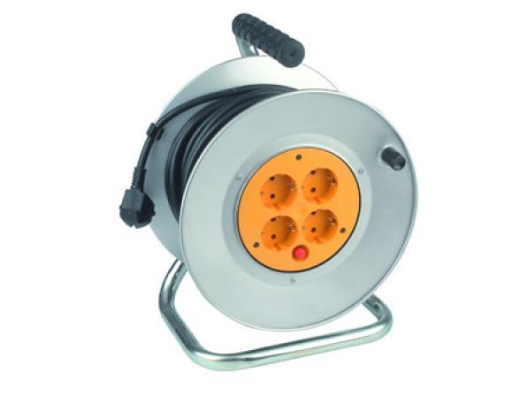 Удлинитель силовой ЭРА RM-4-3x1.5-50m с заземлением 50м 4гн 3х1.5мм2 (2)