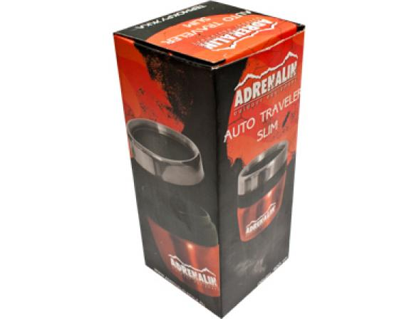 Термокружка Adrenalin Auto Traveler Slim (400 мл)