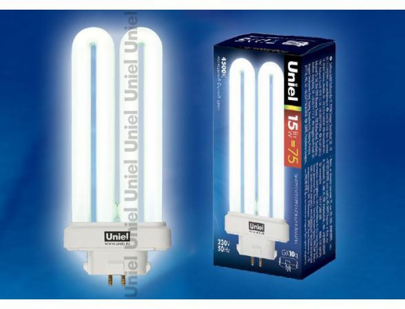 Лампа энергосберегающая Uniel ESL-PLL-15/4500/GX10Q