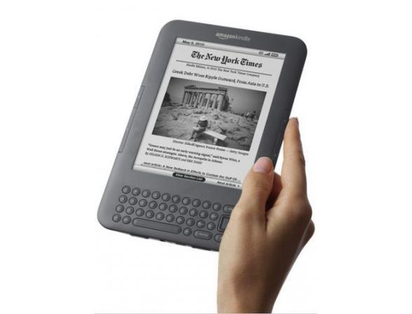 Электронная книга Amazon Kindle 3 Wi-Fi+3G