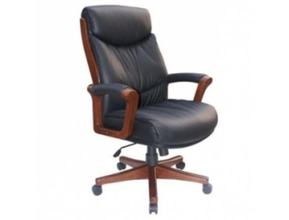 Кресло руководителя BURO _Genius/Black