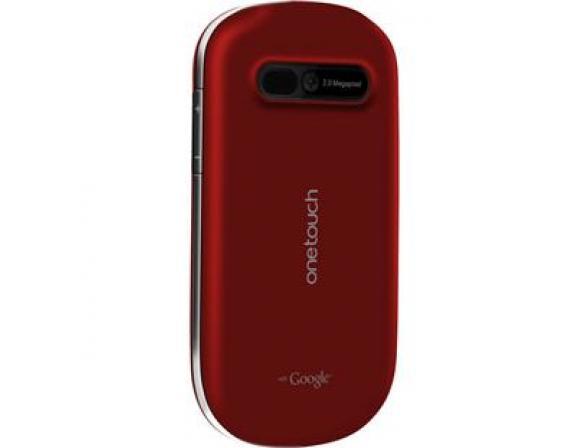Телефон Alcatel OT908 Red (красный)