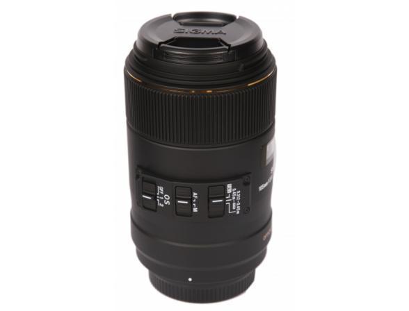 Объектив Sigma AF 105mm f/2.8 MACRO EX DG OS HSM SONY