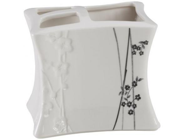 Стакан для зубных щеток Creative Bath Blossoms BLS60WH*