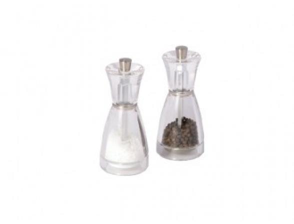Набор мельниц для перца и соли DKB Pina 12,5 см H35708B