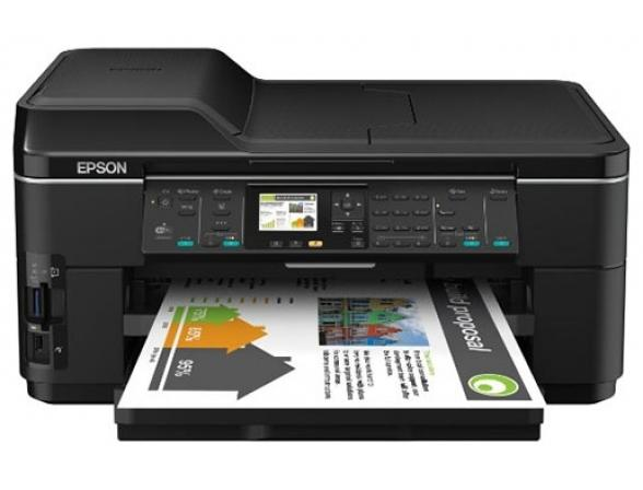 Многофункциональный аппарат Epson WorkForce WF-7515, А3+