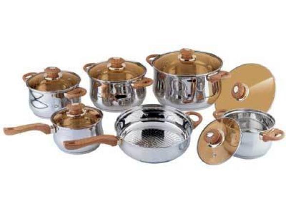 Набор посуды BEKKER Jumbo BK-221