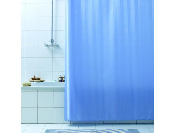 Штора для ванной Bacchetta 180х200 Rigone синяя