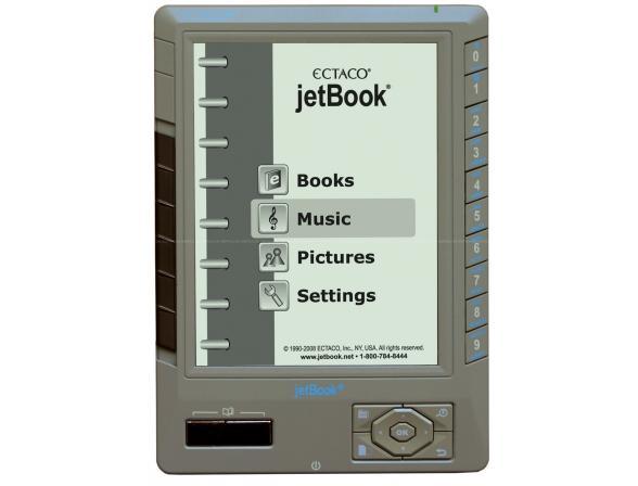 Электронная книга Ectaco jetBook lite серебристый