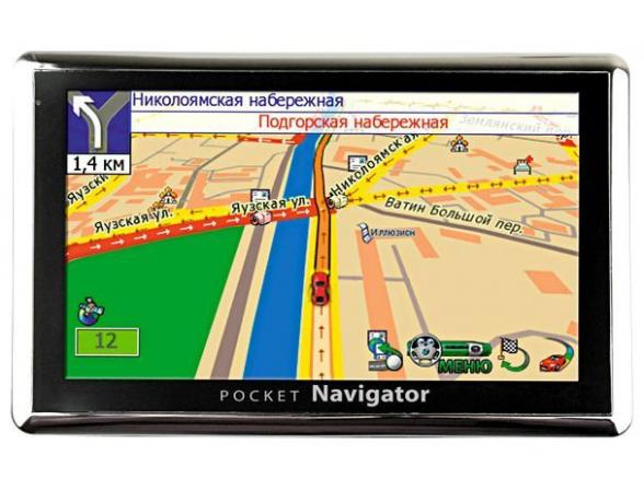 GPS-навигатор Pocket Navigator MC-500 R2