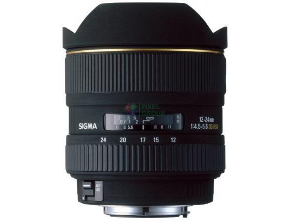 Объектив Sigma AF 12-24mm f/4.5-5.6 II DG HSM NIKON