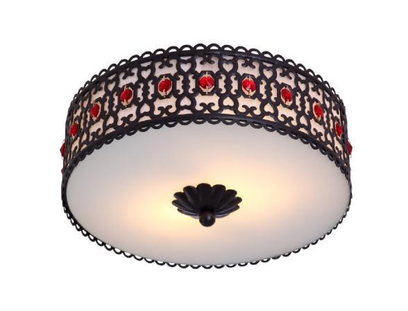 Светильник потолочный ARTELAMP Sultan A6130PL-2BK