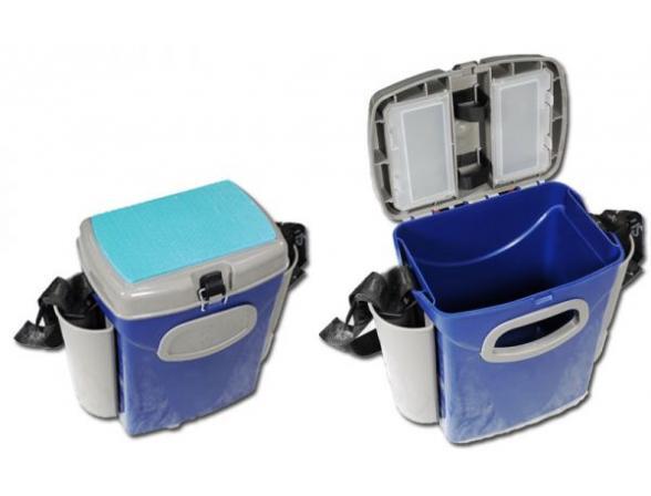 Ящик рыболовный A-elita малый (пластик, органайзер, отдел. под удочку)