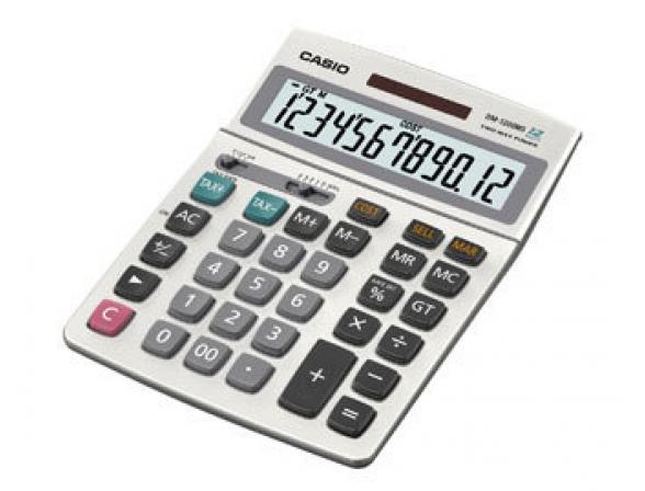 Калькулятор настольный Casio casDM1200MS