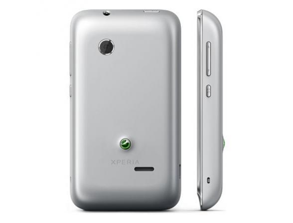 Смартфон Sony ST21i2 Tipo Dual Silver