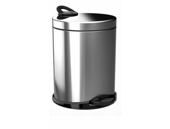 Ведро для мусора Meliconi OPERA 5л (матовый/стальной)
