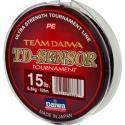 Леска плетеная Daiwa TD SENSOR TOURNAMENT 15 LB - 150 M / BLACK /