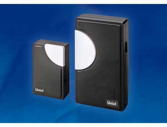 Звонок беспроводной Uniel UDB-002W-R1T1-32S-100M-BL