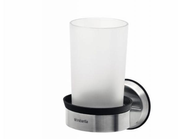 Держатель-подстаканник Brabantia 399961 на 1 стакан матовая сталь