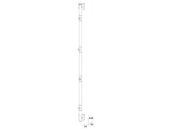 Штанга четырехпозиционная FBS ESPERADO 95 см ESP 076